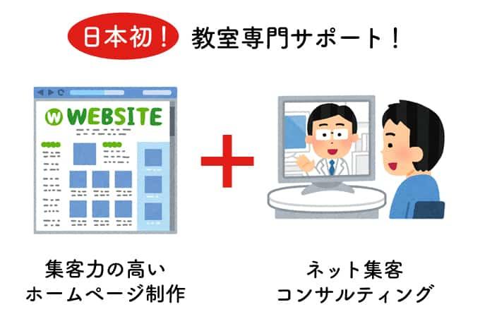 日本初!教室専門サポート!